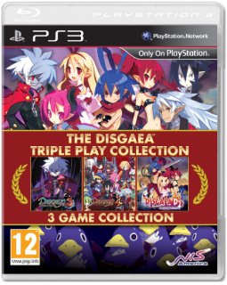 Диск Disgaea Triple Play Collection [PS3]