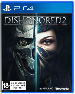 Диск Dishonored 2 (Б/У) [PS4]