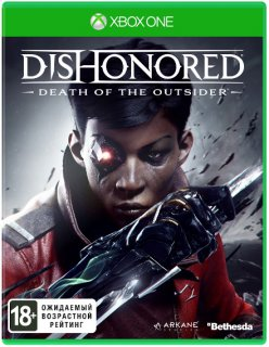 Диск Dishonored: Death of the Outsider [Xbox One]
