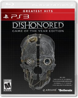Диск Dishonored - Game Of The Year (англ. версия) [PS3]