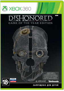 Диск Dishonored - Game Of The Year [X360]