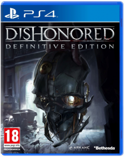 Диск Dishonored - Definitive Edition (Б/У) [PS4]