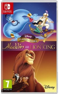 Диск Disney Classic Games: Aladdin and The Lion King [NSwitch]