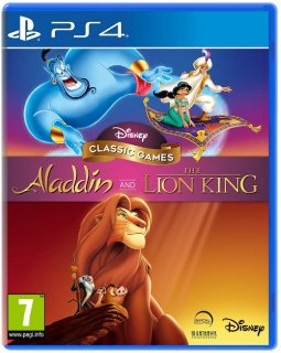 Диск Disney Classic Games: Aladdin and The Lion King [PS4]