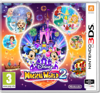 Диск Disney Magical World 2 [3DS]