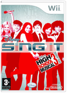 Диск Disney Sing It: High School Musical 3 Senior Year (Б/У) [Wii]
