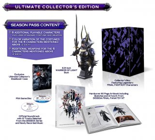 Диск Dissidia Final Fantasy NT Ultimate Collector's Edition  [PS4]
