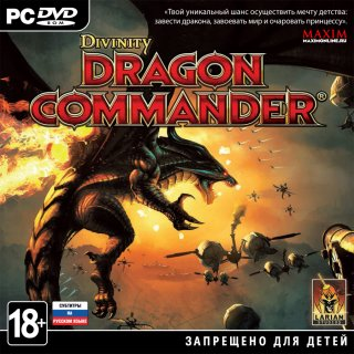 Диск Divinity: Dragon Commander [PC, jewel]