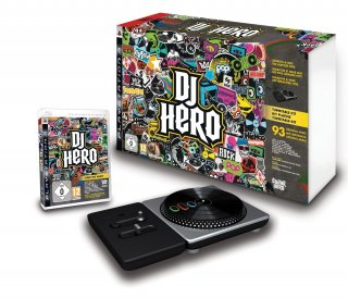 Диск DJ Hero Turntable Bundle (игра + контроллер) (Б/У) [PS3]