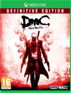 Диск DmC Devil May Cry - Definitive Edition (Б/У) [Xbox One]