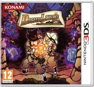 Диск Doctor Lautrec and the Forgotten Knights [3DS]