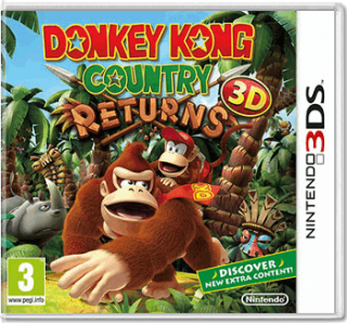 Диск Donkey Kong Country Returns (Б/У) [3DS]