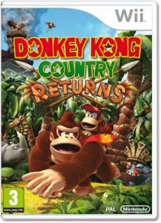 Диск Donkey Kong Country Returns (Б/У) [Wii]
