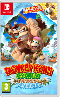 Диск Donkey Kong Country: Tropical Freeze (Б/У) [NSwitch]