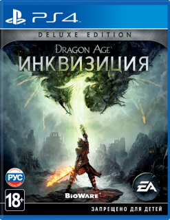 Диск Dragon Age: Inquisition (Инквизиция) Deluxe Edition [PS4]