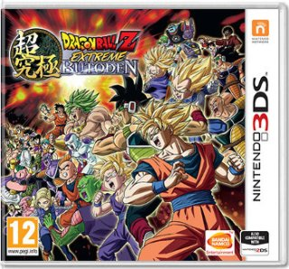Диск Dragon Ball Z: Extreme Butoden [3DS]