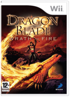 Диск Dragon Blade: Wrath of Fire [Wii]