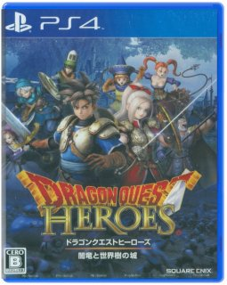 Диск Dragon Quest Heroes: The World Tree's Woe and The Blight Below (JP) (Б/У) [PS4]