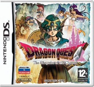 Диск Dragon Quest IV The Chapter of the Chosen (Б/У) [DS]