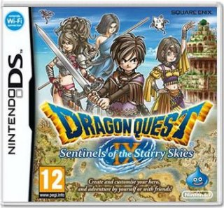 Диск Dragon Quest IX: Sentinels of the Starry Skies (Б/У) [DS]