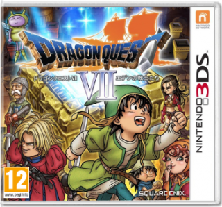 Диск Dragon Quest VII: Fragments of the Forgotten Past (Б/У) [3DS]