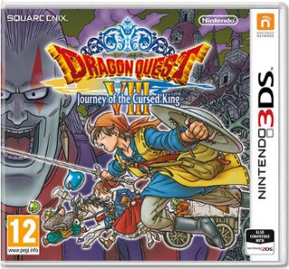 Диск Dragon Quest VIII: Journey of the Cursed King [3DS]