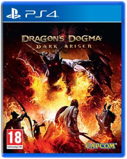 Диск Dragon's Dogma: Dark Arisen HD (Б/У) [PS4]