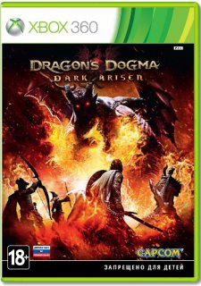 Диск Dragon's Dogma: Dark Arisen (Б/У) [X360]