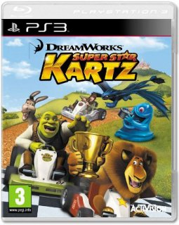 Диск DreamWorks Super Star Kartz [PS3]