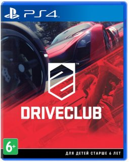 Диск DriveClub [PS4] Хиты PlayStation