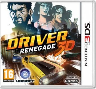 Диск DRIVER Renegade [3DS]