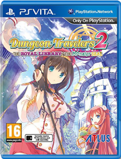 Диск Dungeon Travelers 2: The Royal Library and the Monster Seal (Б/У) [PS Vita]
