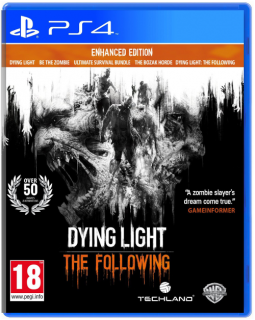 Диск Dying Light - The Following Enhanced Edition [PS4]