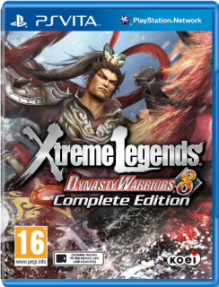 Диск Dynasty Warriors 8 Xtreme Legends - Complete Edition [PS VIta]