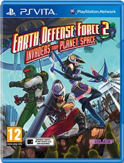 Диск Earth Defense Force 2: Invaders from Planet Space [PS Vita]