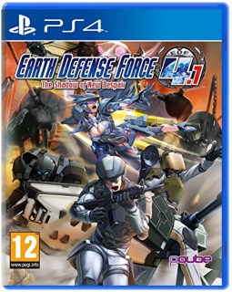 Диск Earth Defense Force 4.1: The Shadow of New Despair [PS4] Хиты PlayStation