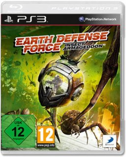 Диск Earth Defense Force: Insect Armageddon [PS3]