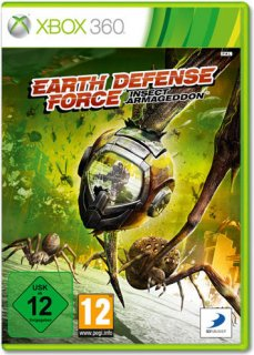 Диск Earth Defense Force: Insect Armageddon (Б/У) [X360]