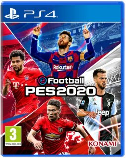Диск eFootball PES 2020 [PS4]