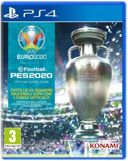 Диск eFootball PES 2020 - UEFA EURO 2020 [PS4]