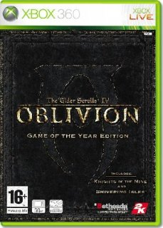 Диск The Elder Scrolls IV (4): Oblivion Game of the Year Edition [X360]
