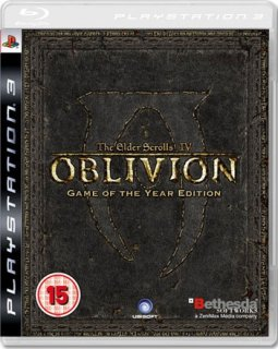 Диск The Elder Scrolls IV (4): Oblivion Game of the Year Edition Platinum [PS3]