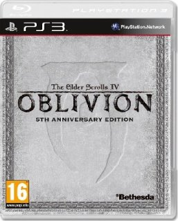 Диск Elder Scrolls IV: Oblivion 5th Anniversary Edition [PS3]