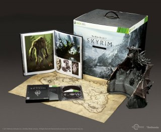 Диск The Elder Scrolls V: Skyrim - Collector's Edition [X360]