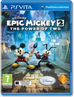 Диск Epic Mickey 2: The Power of Two (Б/У) [PS Vita]