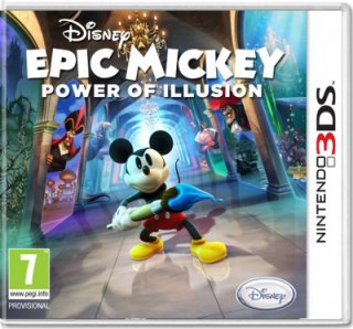 Диск Epic Mickey : Power of Illusion (Б/У) [3DS]
