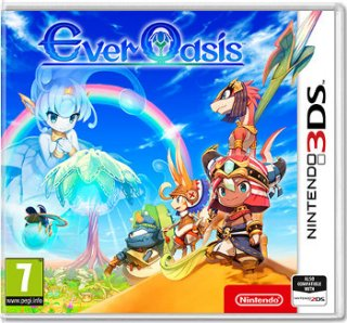 Диск Ever Oasis (Б/У) [3DS]