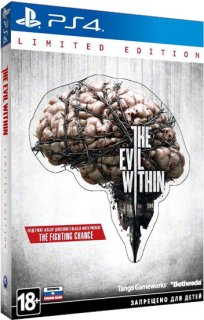 Диск Evil Within - Limited Edition [PS4]
