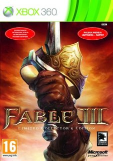 Диск Fable 3 Limited Edition (Б/У) [X360]