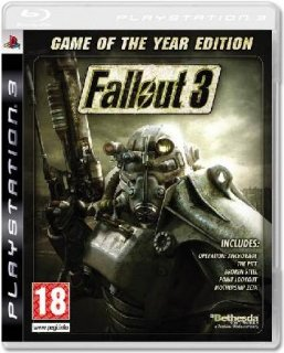 Диск Fallout 3: Game of the Year Edition (Б/У) [PS3]
